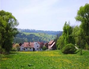 Dorfeingang Pfieffe