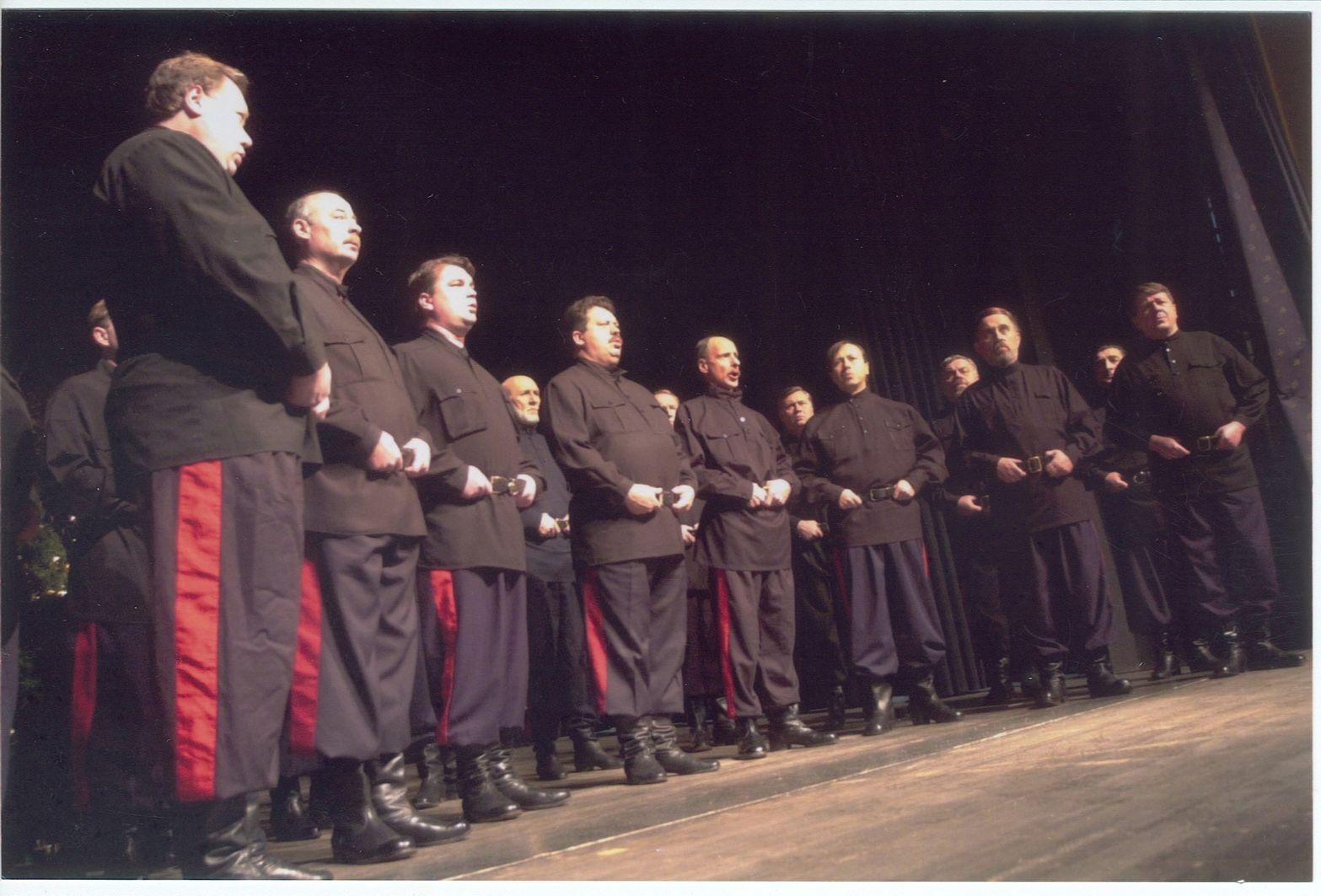 Ferienwohnungen Gauder. Berühmter Besuch vom Don Kosaken Chor