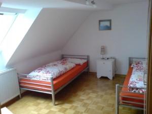 Schlafzimmer für zwei Personen zubuchbar